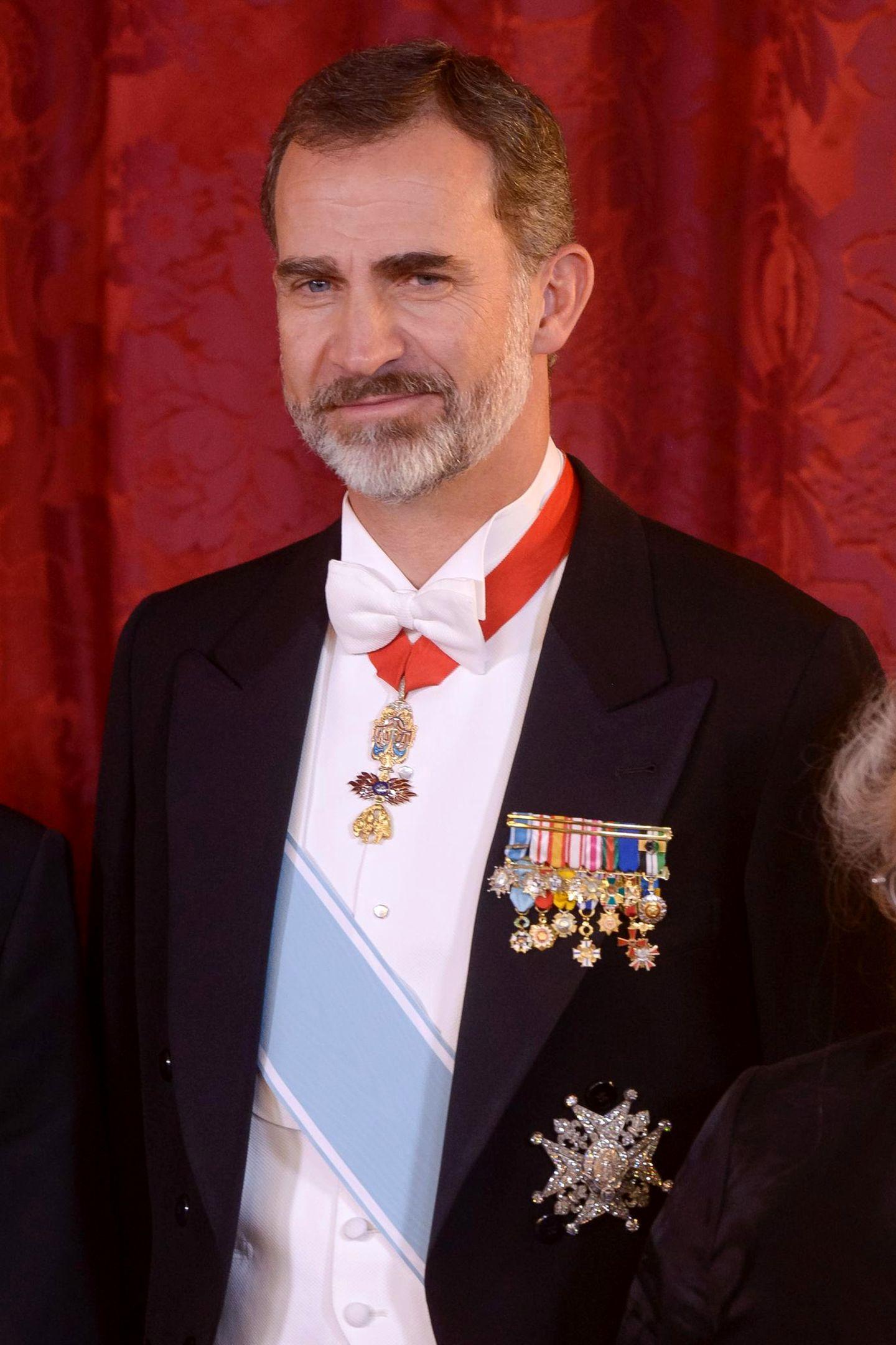 König Felipe von Spanien ist mit seinen 50 Jahren ein attraktiver, gestandener Mann.