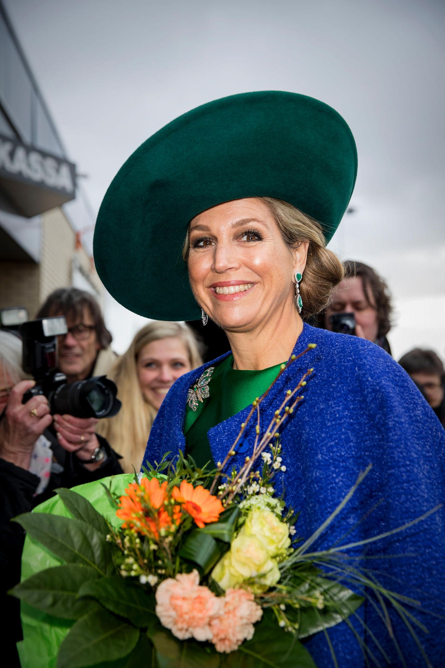 Die Argentinierin in der Niederlande: Königin Máximas schönstes Accessoire ist ihr strahlendes Lächeln.