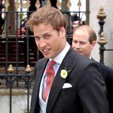 In jungen Jahren sah das noch so aus: Prinz William hat im Laufe der Zeit so manches Haar gelassen.
