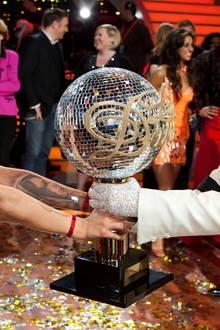 """""""Let's Dance""""-Gewinner 2010  Schauspielerin und Model Sophia Thomalla und Tänzer Massimo Sinató."""