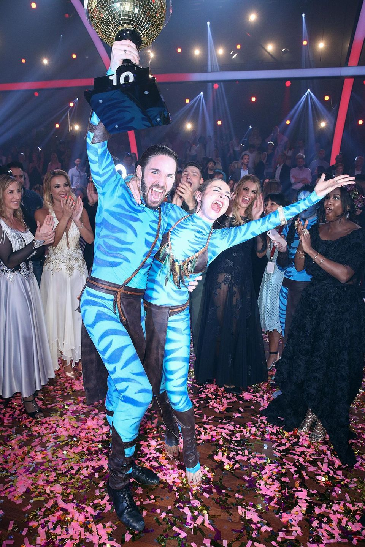 """Let's Dance""-Gewinner 2017  Sänger Gil Ofarim und Tänzerin Ekaterina Leonova."