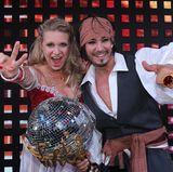 """""""Let's Dance""""-Gewinner 2012  Die ehemalige Turnerin Magdalena Brzeska und Tänzer Erich Klann."""