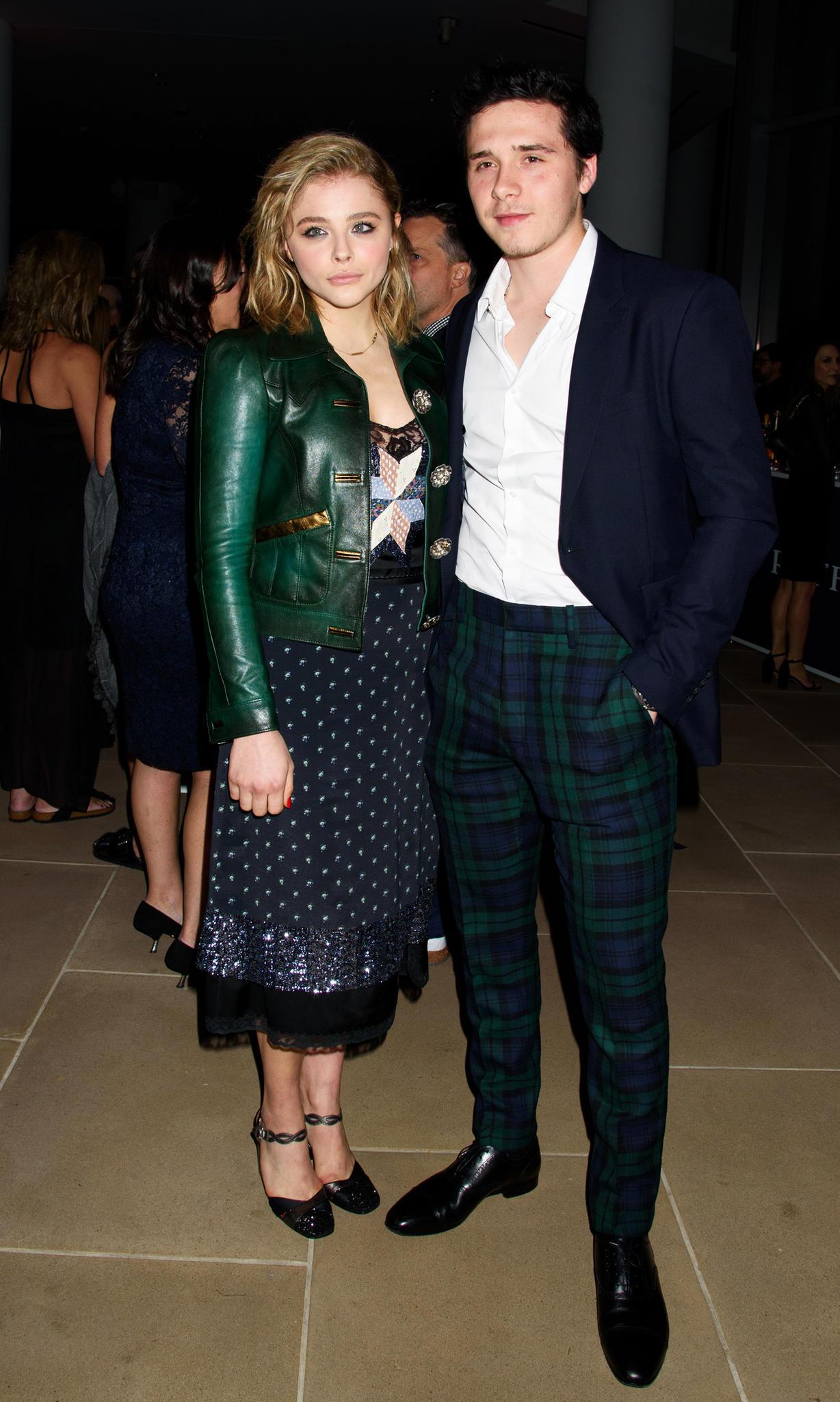 Brooklyn Beckham und seine Freundin Chloë Moretz haben ihre Looks aufeinander abgestimmt