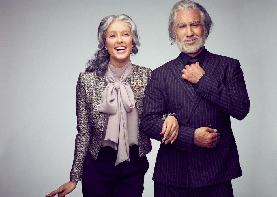 """10. Mai 2017  Rebecca Mir und Massimo Sinato nehmen an der VOX-Show """"Story of my life"""" teil und gewähren den Zuschauern rührende Eindrücke in ihre Liebe."""
