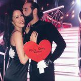 """10. Juni 2017  """"Ich bin so stolz auf dich mein Schatz!!! Ich liebe dich"""" postet Rebecca Mir auf ihrem Instagramaccount."""