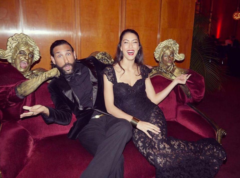 4. November 2017  Rebecca und Massimo haben wirklich immer Spaß.
