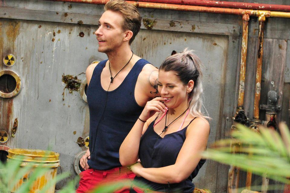 Im Dschungel lernten sich David Friedrich und Jenny Frankhauser kennen. Ist es für die Dschungelkönigin mehr als Freundschaft?