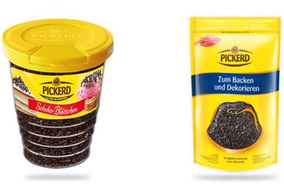 """""""Schoko-Blättchen"""" der Marke Picked"""