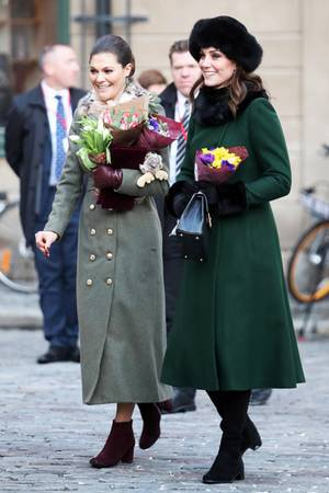 Prinzessin Victoria und Herzogin Catherine