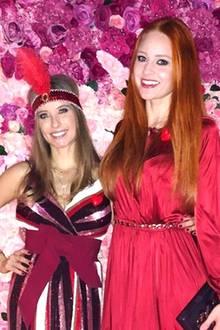 Cathy Hummels und Barbara Meier  Barbara Meier postet dieses Bild vom 30. Geburtstag der Neumama Cathy Hummels. Die beiden Modeliebhaber scheinen sich prächtig zu verstehen.