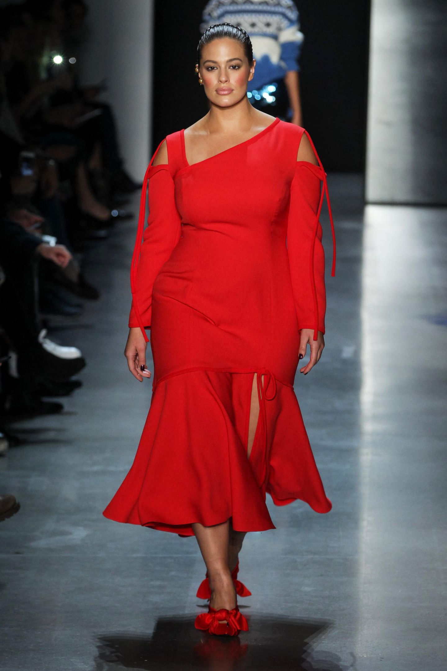 Ashley Graham für Prabal Gurung Herbst/Winter 2018/19