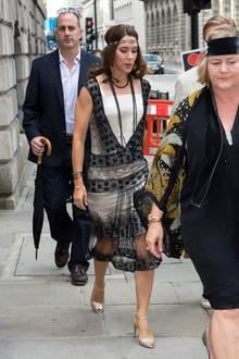 In diesem 20er-Jahre-Look hätten wir Prinzessin Mary bei einer Privatparty in London 2013 zu gern Charleston tanzen sehen.