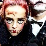 Monegassen-Sprössling Pauline Ducruet erfreut ihre Instagram-Fans immer mal wieder mit lustigen-gruseligen Halloween-Maskierungen wie dieser.