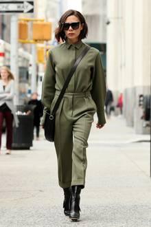 New Yorks Straßen sind ihr Laufsteg! Der Style von Victoria Beckham