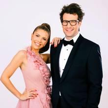 """""""Let's Dance""""-Moderatoren Victoria Swarovski und Daniel Hartwich"""