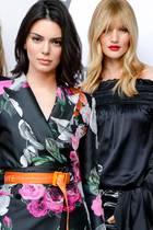 Martha Hunt, Kendall Jenner, Rosie Huntington-Whiteley
