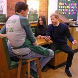"""13. Februar 2018  Meghan Markle und Prinz Harry besuchen die soziale Einrichtung """"Social Bite"""" in Edinburgh."""