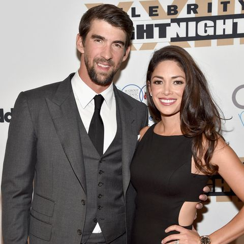 Michael Phelps + Nicole Johnson
