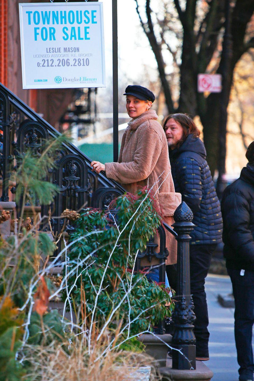 Diane Kruger und Norman Reedus auf Wohnungssuche in New York
