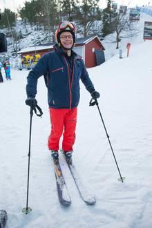 Prinz Daniel fährt selbst gerne Ski.