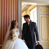 Fußballer Samuel Radlinger gewährt zum Valentinstag einen Blick auf seine Traumhochzeit mit Schauspielerin Sila Sahin.
