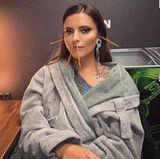 """13. Februar 2018  """"Nach 17 Stunden Werbedreh wird man komisch"""", postet Sophia Thomalla. Zugegeben der """"Salzstangen-Look"""" schaut schon ein wenig merkwürdig aus."""