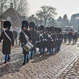 14. Februar 2018  Trauerzug zu Ehren des verstorbenen Prinzen Henrik.
