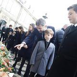 15. Februar 2018  Kronprinz Frederik und seine Kinder sind begeistert von der großen Anteilnahme der Dänen.