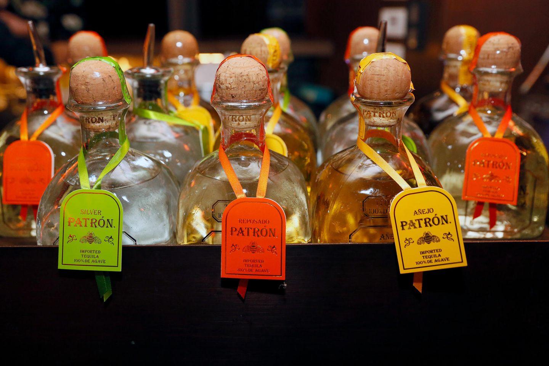An der PATRÒN-Bar werden besondere Drinks und exquisite Tequila-Sorten serviert.