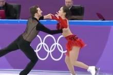 Olympia 2018: Missgeschick beim Südkoreanischen Eiskunstlaufpaar