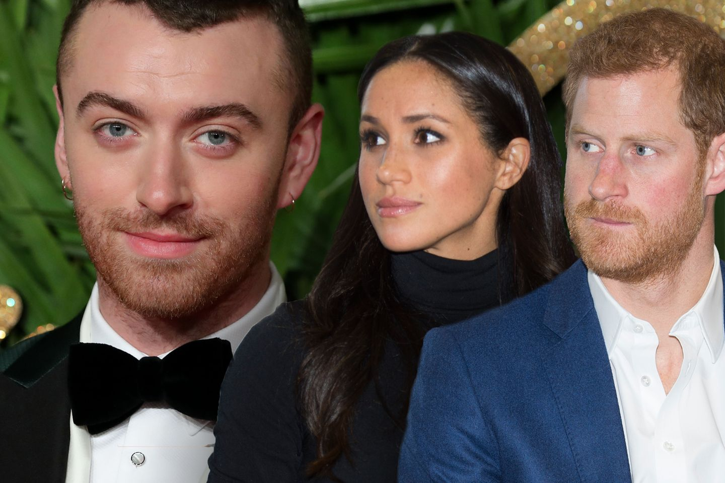 Sam Smith, Meghan Markle und Prinz Harry