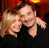 Nicole Weber (Nicole Weber Communications) und Michael Betzelt (E.A. Cosmetics)