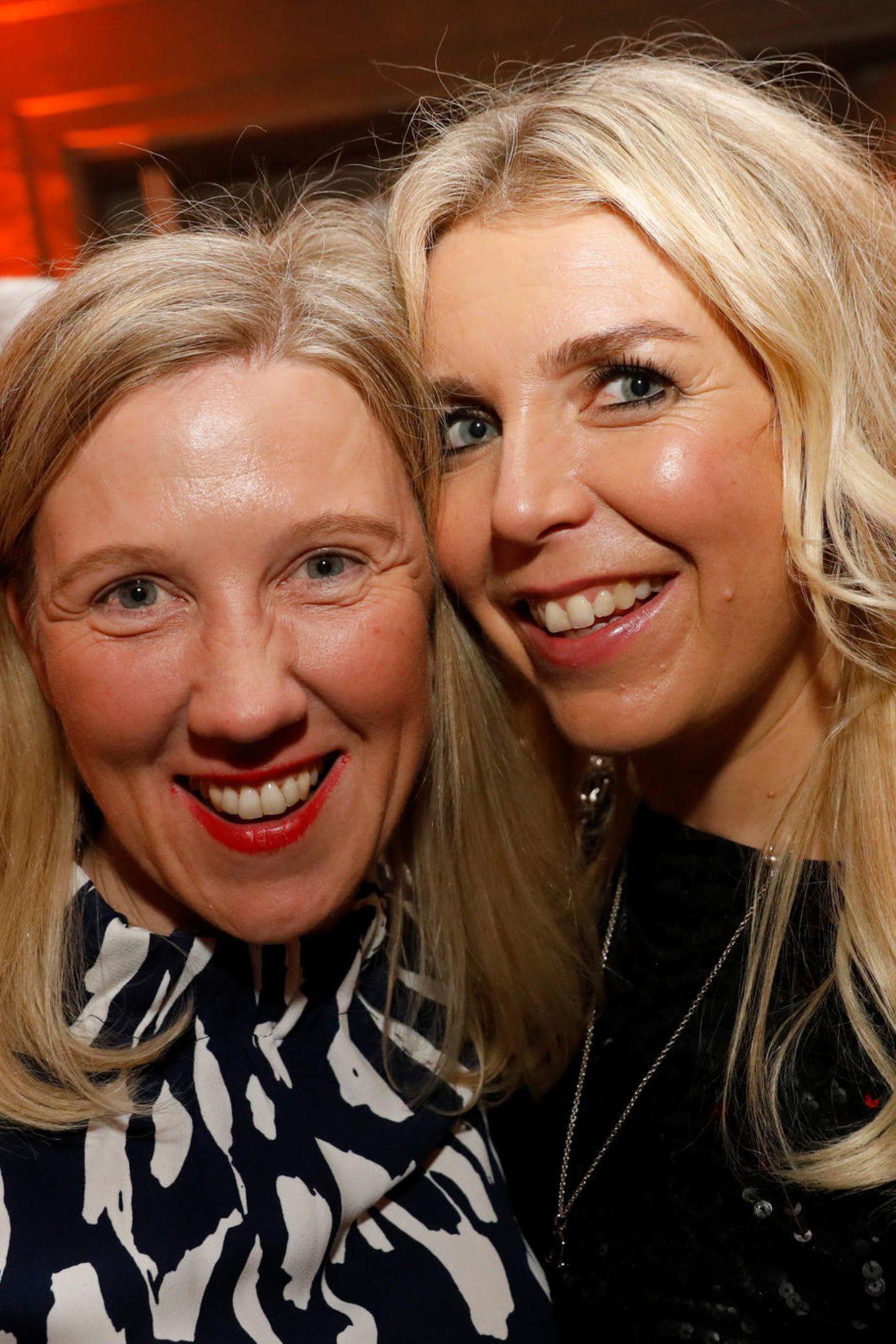 Michaela Luise Stein (Coty Luxury) und Astrid Bleeker (Director Brand Solutions GALA)
