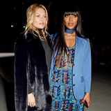 """Die Supermodel-Kolleginnen Kate Moss und Naomi Campbell wollen ebenfalls """"Goodbye"""" sagen."""