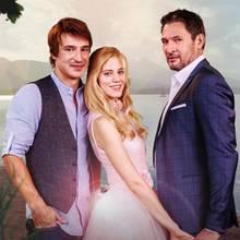 """""""Sturm der Liebe"""": In Staffel 14 spielen Sebastian Fischer, Larissa Marolt und Dieter Bach (v.l.n.r.) die Hauptrollen"""