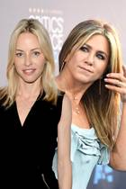 Jennifer Aniston und Heidi Bivens