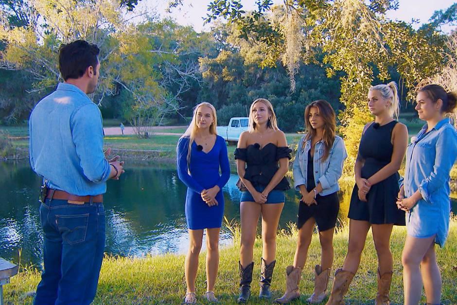 Daniel und seine fünf Ladies Svenja,Jessica, Kristina, Carina und Janine Christin