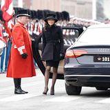 20. Februar  Gräfin Alexandra von Frederiksborg, die ehemalige Schwiegertochter, nimmt auch an der Beisetzung teil.