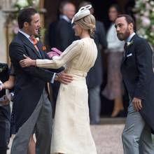 Spencer Matthews, Donna Air + James Middleton