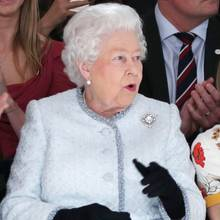 Die Queen besucht am 20. Februar die Fashion Week in London