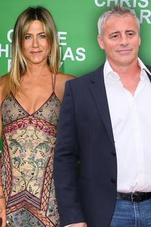 Jennifer Aniston und Matt Le Blanc