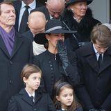 20. Februar 2018  Eine schwere Zeit für Prinz Joachim, Prinzessin Marie und ihre Kinder Henrik, Athena und Felix.