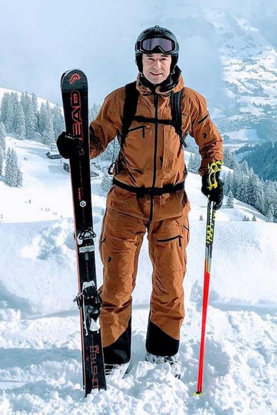 Kai Pflaume bekundet auf Instagram seine Leidenschaft für Wintersport. In den Tiroler Bergen genießt der Moderator eine Auszeit vom Alltag. Zum Glück hat er es von seinem Wohnort München nicht allzu weit.