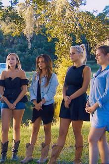 """""""Bachelor"""" Daniel Völz, Svenja, Jessica, Kristina, Carina, Janine Christin"""