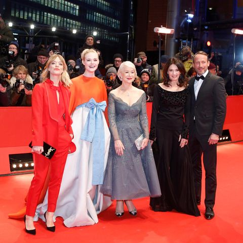 Heike Makatsch, Elle Fanning, Helen Mirren, Iris Berben, Wotan Wilke Moehring