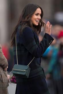 Meghan Markle bei ihrem Besuch in Edinburgh am 13. Februar 2017