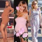 Schön schwanger: Khloe Kardashian, Annemarie Carpendale, Bonnie Strange, Kirsten Dunst, Anna Maria Damm