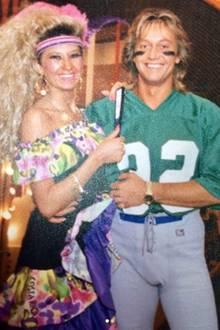 """Carmen und Robert Geiss  Schon in den """"Wilden 80ern"""" sind Carmen und Robert Geiss ein auffälliges Paar. Damals heißt sie allerdings noch Schmitz, ist """"Miss Fitness"""" und arbeitet als Trainerin."""
