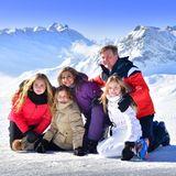 26. Februar 2018  Traditionell werden Königin Máxima und König Willem-Alexander zum Auftakt ihrer jährlichen Skiferien imösterreichischen Lech mit ihren Töchtern fotografiert.