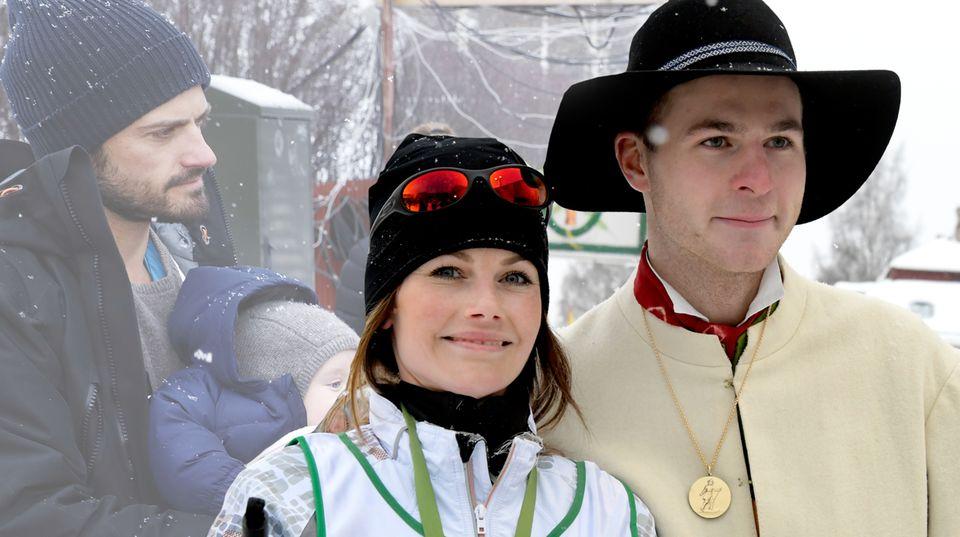 Prinz Carl Philip + Prinzessin Sofia